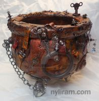 Steampunk Cauldron by MarilynMorrison