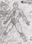 Johnny Storm of the Fantastic Four by Dingodile24