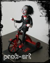 the saw puppet by prok-art