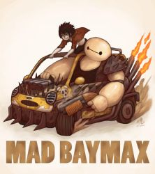 MAD BAYMAX by Ry-Spirit