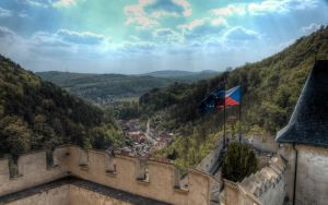 Karlstejn Valley by Hexaloner