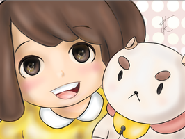 Bee and Puppycat Selfie by x-kaitlin-x