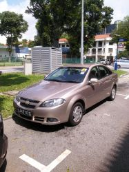 Sky Beige Chevrolet Optra Magnum J200 by Amgnismo