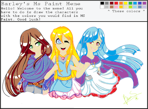 MS Paint Challenge (With Speedypaint) by Beatriz-Savin