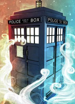 The Police Box by KiloWhat