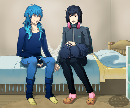 DMMd SS - Sharing a Moment Together by Zaziki7