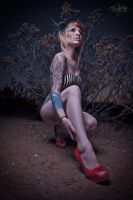 red heels by Vox-Abattoir