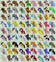 Free MLP Adopts! (Closed) by nomenclaturewaggle