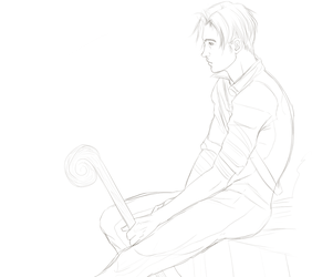 Anduin Sketch by paperdandy