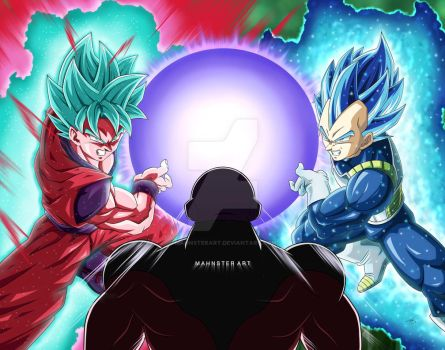 Ruga Rell 308 34 Goku And Vegeta Vs Jiren By MahnsterArt