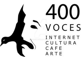 400 voces logotipo by ricksd