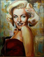Marilyn Monroe by Natmir