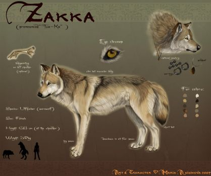 Zakka refsheet 2007 by Yellow-eyes