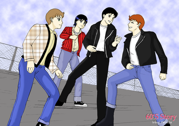 60's Story Grease by ivperalta