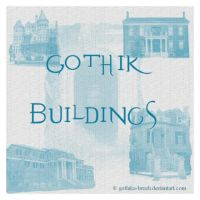 Gothik Buildings by gothika-brush