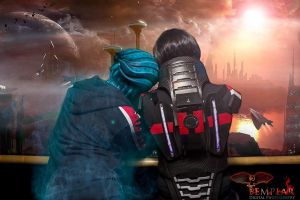 :Mass Effect: 'But its been a good ride' by AlouetteCosplay
