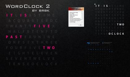 WordClock2 by brbk