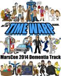MarsCon 2014 Dementia Track t-shirt time-travelers by artbylukeski