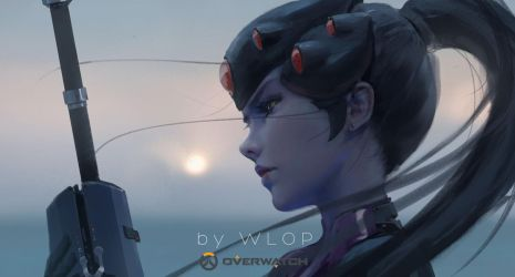 Widowmaker by wlop