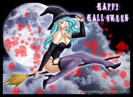 HAPPY SEXY HALLOWEEN by DarkShadowArtworks