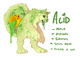 Acid OC by Lemongu