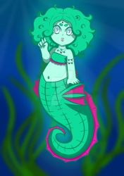 Seahorse by robot0artist