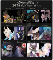 2016 Summary of Art by Ne-wt