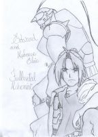 Edward and Alphonse by cak04