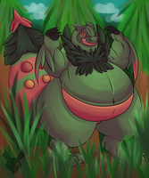-Mega Sceptile by PlumpProductions