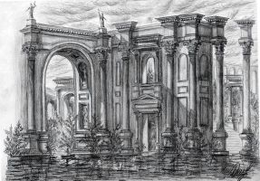 The water palace by Osokin