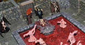 Bloody sacrifice for Asmodeus by MrVergee