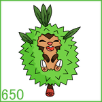 Chespin by Draggaco