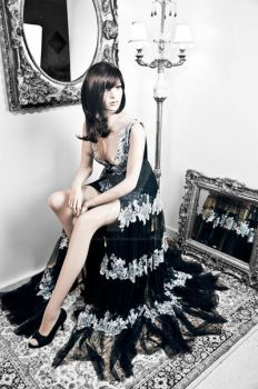floral Collection,Night Queen by alysa-couture