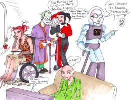 Arkham old folks home by zaionczyk