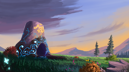 Akkala Shrine [Breath of The Wild] by Seven-Bit