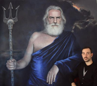Poseidon and I by Benbe