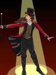 Ringmaster Harper Woods by CartoonMad97