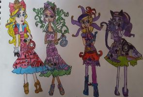 Way Too Wonderland Girls (1) by PrincessGemSquirrel