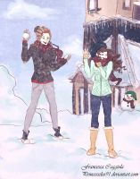Let it snow... by princesscleo91