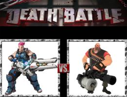 Request #147 Zarya vs Heavy by LukeAlanBundesen