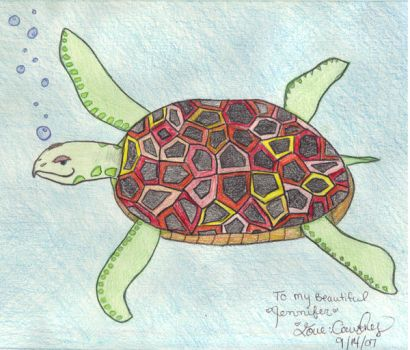 Sea Turtle by GenerationGwilly