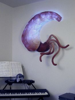 Wall Critter, Lamp by CruftForce7