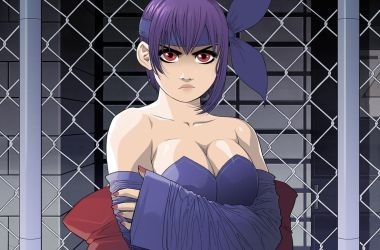 Grumpy Ayane by ExMile