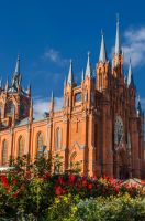 Cathedral of the Immaculate Conception (Moscow) by Dactari