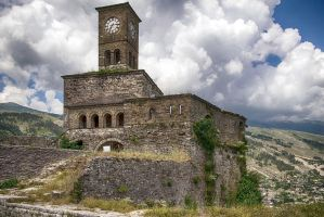 Gjirokaster Castle by CitizenFresh