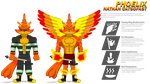 Nathan's Super Form -- Phoelix by Skyblue2005