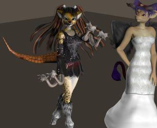 Goetic Girlfriends Orias and Marbas by Solomen