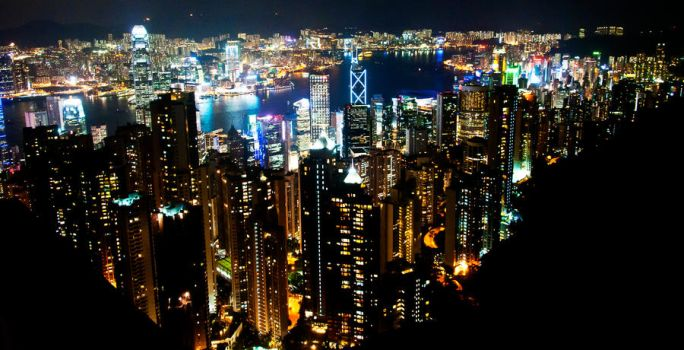 Magnificent View: Hong Kong by poondq