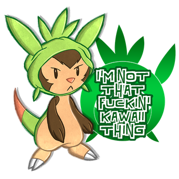 #650 Chespin by peeweegraphix
