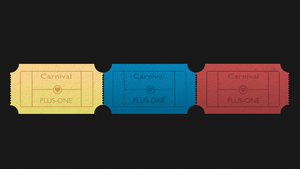 Tickets Plus-One by NocteDesign